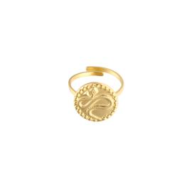 Vintage snake - ring