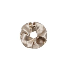 Soft as Satin - scrunchie beige