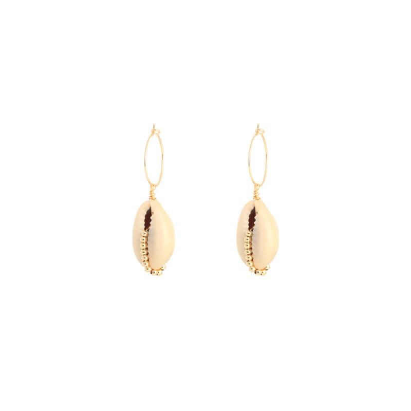 Sea shell - oorbellen