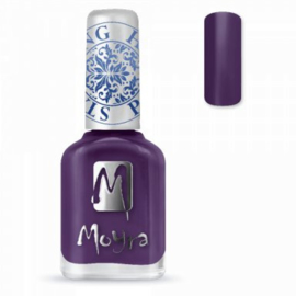 Moyra Stamping nail polish SP 04 Purple