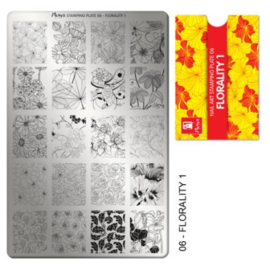Moyra Stamping plate 06 Florality 1