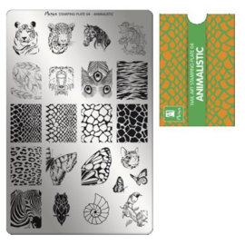 Moyra Stamping plate 04 Animalistic