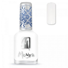 Moyra Stamping nail polish SP 07 White