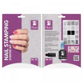 Moyra Nail stamping starter kit 53