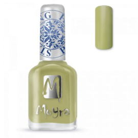 Moyra Stamping nail polish SP 15 Light green