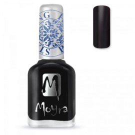 Moyra Stamping nail polish SP 06 Black