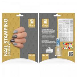 Moyra Nail stamping starter kit 40