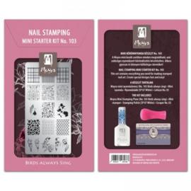 Mini stamping starter kit