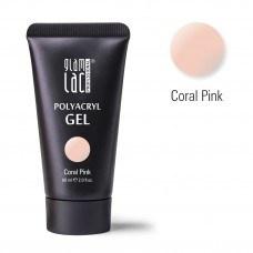Glamlac Polyacryl Gel Coral Pink 60 ml.