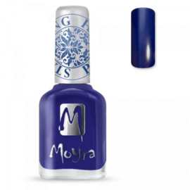 Moyra Stamping nail polish SP 05 Blue
