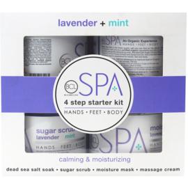 BCL Spa Manicure Starter Kit - Lavender + Mint