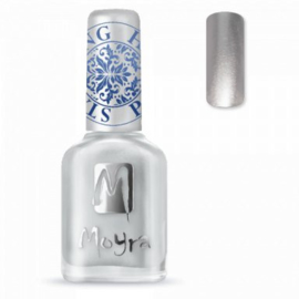 Moyra Stamping nail polish SP 08 Silver