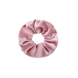 """Scrunchies """" Sweet Velvet """" Roze"""