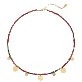 Ketting 'Caribbean Sunset' - Goud