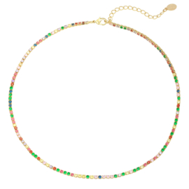 Ketting 'Color' - Multi