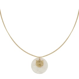 Ketting 'Full Moon' - Goud