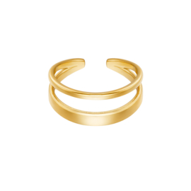 Ring 'Luna' - Goud