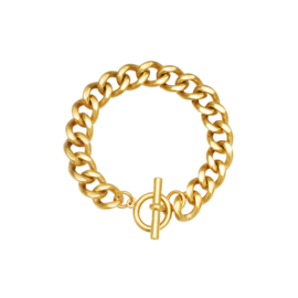 Armband 'Chain Ivy' - Goud