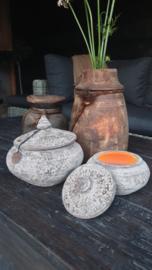 Nepal Pottery Jewel set of 2