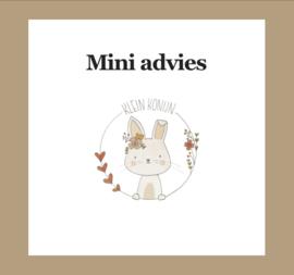 Mini styling advies baby/kinderkamer