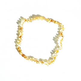 Baltische natuurlijke Amber peuter Ketting - Honing