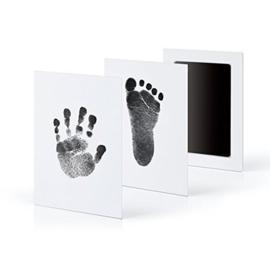Baby hand- en voetafdruk maken