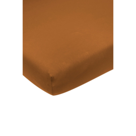 Hoeslaken ledikant camel