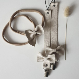 Haarbandje strik -  ivoor