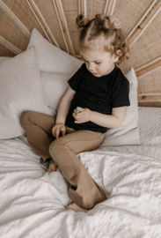 Flared pants | Taupe