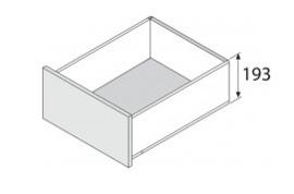 Blum Legrabox 193 mm inbouwhoogte