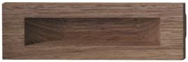 Komgreep rechthoekig hout