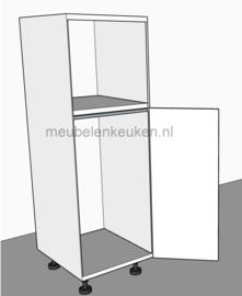 Inbouwkast t.b.v. koelkast 1025 mm en combimagnetron 450 mm GREEPLOOS
