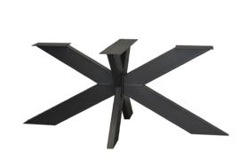 Stalen matrix poot / onderstel 2 delig, koker 15x5 cm, incl. coating.