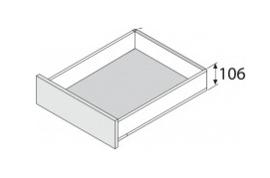 Blum Legrabox 106 mm inbouwhoogte
