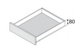 Blum Legrabox 80 mm inbouwhoogte