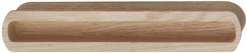 Komgreep ovaal hout