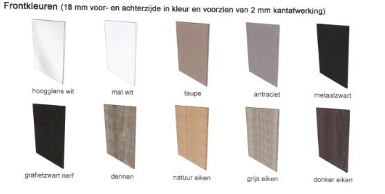 Verrassend Inbouwkast t.b.v. koelkast 1025 mm en oven 59,5 mm GREEPLOOS BA-53
