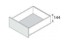 Blum legrabox 144 mm inbouwhoogte