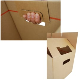 Verhuisdozen autolock 50 L - set van 15 stuks