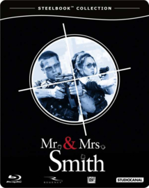 Mr. & Mrs. Smith (Blu-ray in Steelbook)
