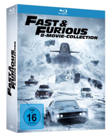 Fast & Furious (8-Movie Collection) (Blu-ray)