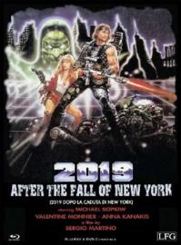 2019 - Dopo la caduta di New York (1982) (Blu-ray & DVD in Mediabook)