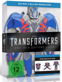 Transformers: Age of Extinction (2014) (Optimus Edition) (Blu-ray)