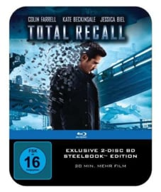 Total Recall (2012) (Extended Director's Cut) (Blu-ray in Steelbook)