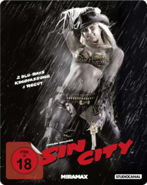 Sin City (Theatrical Version & Recut) (Steelbook) (Blu-ray)