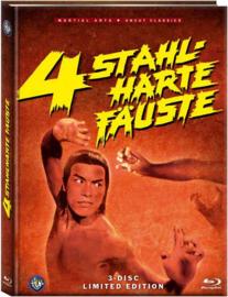 4 stahlharte Fäuste (Blu-ray & DVD in Mediabook)