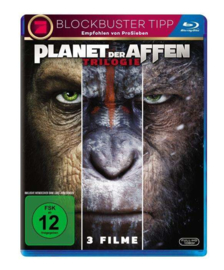 Planet of the Apes (The Trilogy) (Blu-ray)