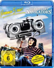 Short Circuit / Flight of the Navigator (Blu-ray)