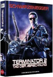 Terminator 2 : Judgement Day (1991) (3D & 2D Blu-ray in Mediabook)