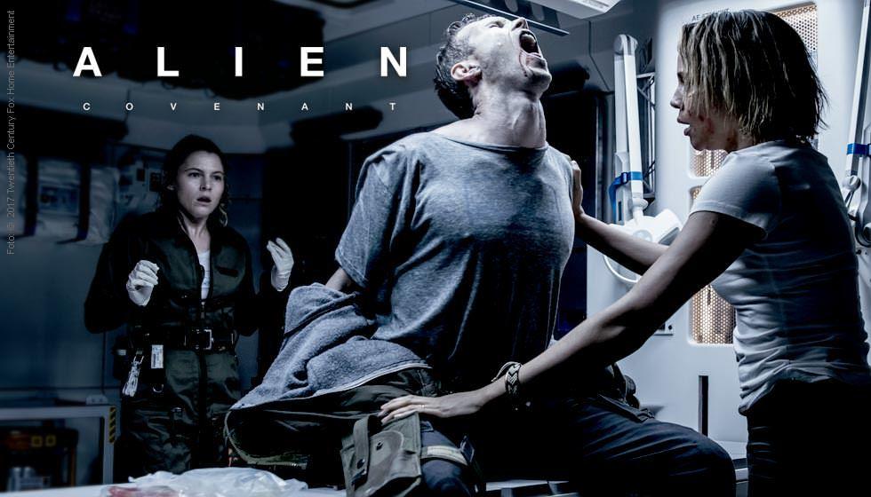 Alien: Covenant (Ultra HD Blu-ray & Blu-ray)